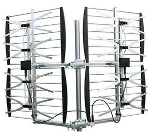 TV ANTENNA 8 BAY OUTDOOR MULTI DIRECTION HD VHF/UHF TV ANTENNA