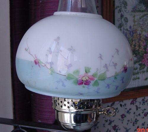 Oil Lamp Shade 7 Ebay