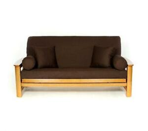 Futon Cover Full Brown
