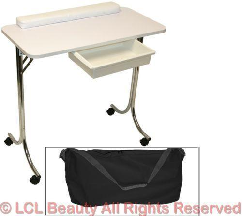 Manicure station ebay for Mobile nail technician table