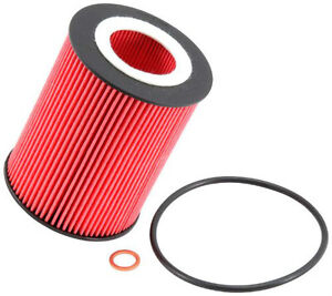Two Oil Filters K&N PS 7007 fit several 2.0 and 2.5 BMW engines