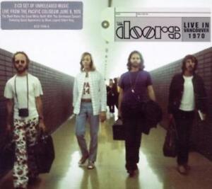 THE DOORS ''LIVE IN VANCOUVER 1970'' DOPPEL CD DIGIPAK NEU & OVP