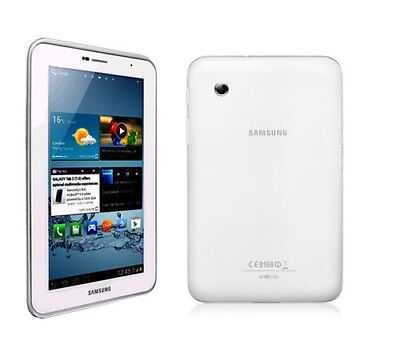 Unlocked Samsung Galaxy Tab 2 P3100 8GB Android GSM 7in-Tablet/Phone - white