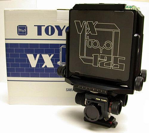TOYO (TOYO-VIEW) VX 125 B (BLACK) CAMERA BODY 4x5