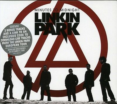 Linkin Park   Minutes To Midnight  European Tour Edition  New Cd