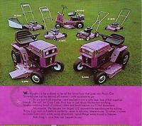 Wanted arctic cat lawn mowers  or snowblowers