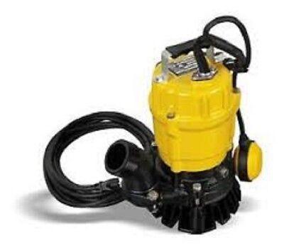 Wacker Neuson Pstf2 400 Submersible Pump Wfloat 110v60hz 12 Hp 20 Cord