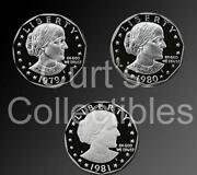 Susan B Anthony Complete Set
