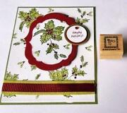 Stampin Up Christmas Punch
