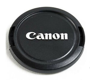 58 mm Snap-On Lens Cap for Camera Canon Lens E58u
