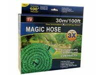 Expending Magic Hose 100FT 30 Meter Green New in Box As seen on TV Delivery Possible