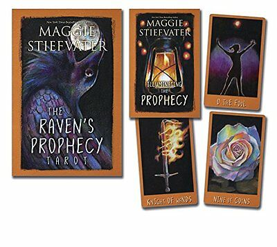 The Raven's Prophecy Tarot by Maggie Stiefvater (2015, Book & Deck Kit)