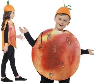 Kinder Roald Dahl James & The Giant Pfirsich Kostüm Kostüm SMIFFYS NEU