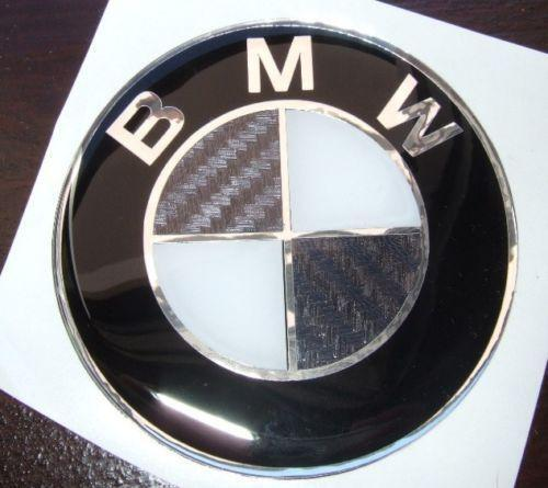 bmw e46 carbon emblem ebay. Black Bedroom Furniture Sets. Home Design Ideas