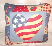 American Flag Cushion