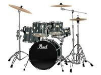Pearl Export Drum Kit with Zildjian Cymbals