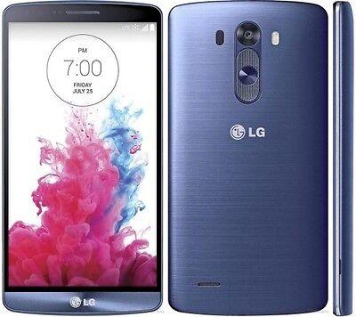 NEW INBOX LG G3 VS985 - 32GB - Metallic BLUE UNLOCKED VERIZON + OEM ACCESSORIES