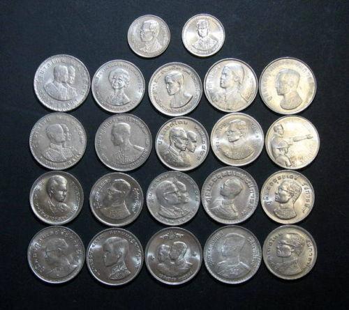 Thailand 1 Baht Coin Ebay