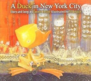 A DUCK IN NEW YORK CITY - Book + CD