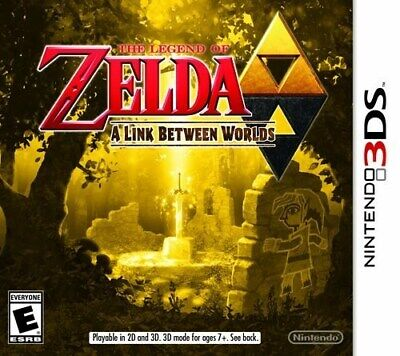 NINTENDO 3DS DS GAME LEGEND OF ZELDA  A LINK BETWEEN WORLDS BRAND NEW comprar usado  Enviando para Brazil
