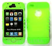 Soft Silicone Rubber Case Cover Skin for Apple iPhone 4S