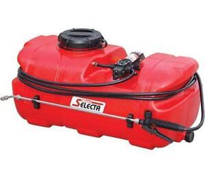 12V ATV SPRAY TANK 55L Silvan Selecta Redline Spotpak farm sprayer weed