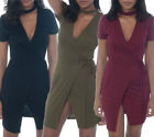 Bodycon Regular Size Wrap Dresses