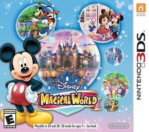 Disney Magical World Nintendo 3DS New/Sealed Neuf/Scellé