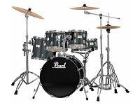 Pearl Export Drum Kit & Zildjian Cymbals