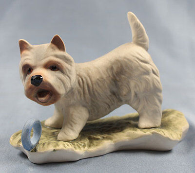 west highland Terrier Hund  porzellanfigur porzellan figur goebel westie alt ()