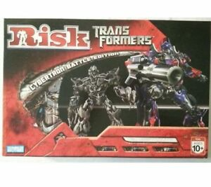 RISK-Transformers Cybertron Battle Edition-Parker Brothers