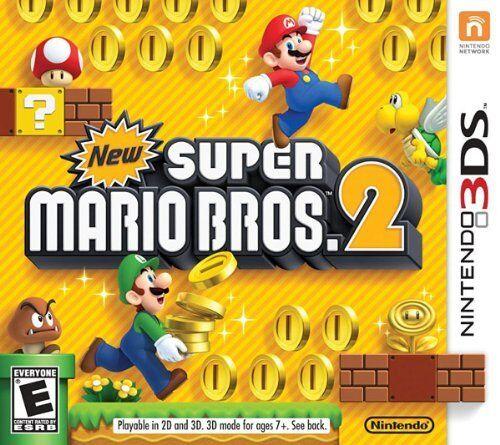 Super Mario Bros. 2 (nintendo 3ds, 2012) Brand