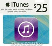 iTunes Gift Card Voucher