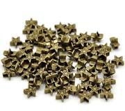 Tibetan Silver Star Spacer Beads