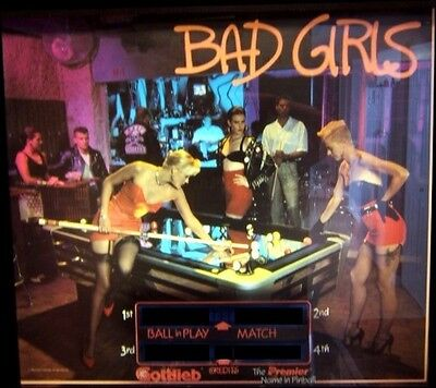 BAD GIRLS Complete LED Lighting Kit custom SUPER BRIGHT PINBALL LED KIT
