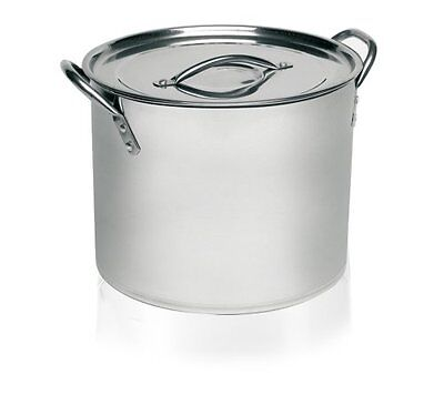 Imusa Stainless Steel Stock Pot, 8 Quart