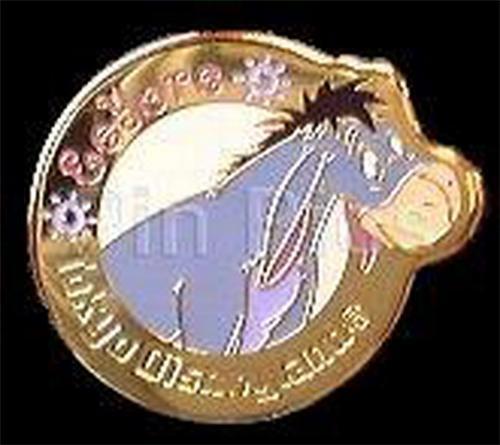Disney Eeyore Tokyo Japan  retired  pin/pins
