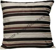 4 Brown Cushion Covers