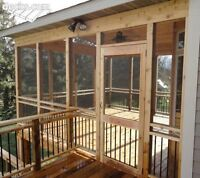 DECK.FENCE/REPAIR AND INSTALL SPECIALS