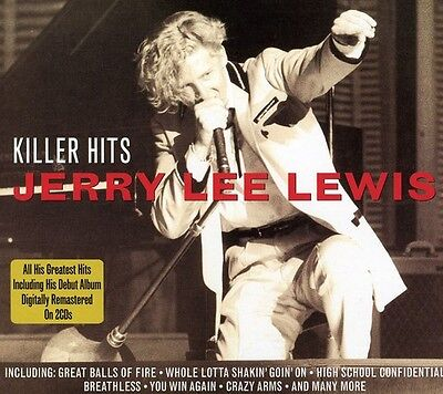 Jerry Lee Lewis   Killer Hits  New Cd  Uk   Import