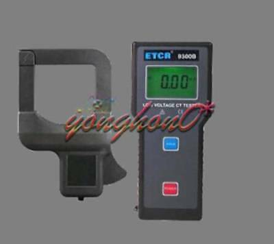 Etcr9300b Low Voltage Current Transformation Ratio Tester 0.00ma1000a New