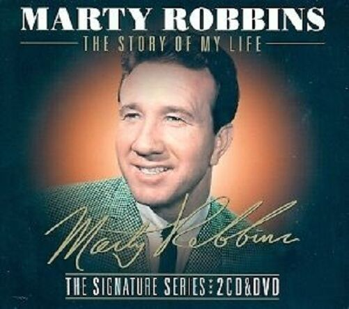 MARTY ROBBINS THE STORY OF MY LIFE 2 CD & DVD COLLECTION - NEW RELEASE 2013