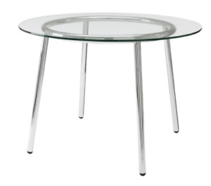 Kitchen table  IKEA clear glass