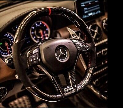 Mercedes Benz Carbon Lenkrad w204 w212 w176 AMG Alcantara Carbon Steering wheel