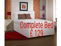 New Double Divan Bed set £129 including Mattress & Headboard New double divan set