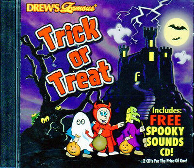 Drew's Famous TRICK OR TREAT: HALLOWEEN PARTY MUSIC & SPOOKY SOUNDS (2-CD Set) ()