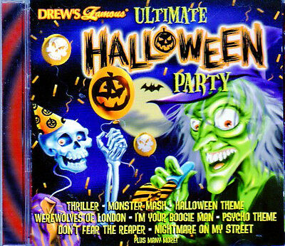 Drew's Famous ULTIMATE HALLOWEEN PARTY MIX OF MUSIC, MOVIE THEMES & SCARY SOUNDS ()