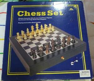 Chess Set New in Box Regents Park Auburn Area Preview