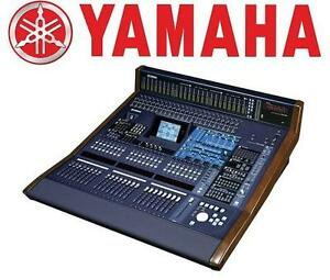 USED YAMAHA VCM MIXING CONSOLE - 107772850 - VCM DIGITAL MIXING CONSOLE 96 Inputs and 22 Buses For Glorious Surround ...