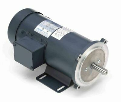 34 Hp 1800 Rpm 90 Volts Dc 56c Frame Tefc Leeson Electric Motor 098032